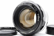 [Rare!! Exc++++] Nikon NIKKOR S Auto 55mm f/1.2 MF Lens w/Filter From Japan #127