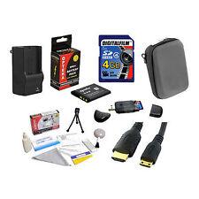 4GB Advanced Accessory Bundle for Sony CyberShot DSC-WX9 NEW
