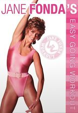 JANE FONDA - EASY GOING WORKOUT  DVD NEU