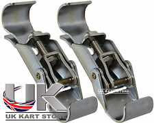 Nose Cone Spring Clips Quick Release Clamps TonyKart CRG Compkart UK KART STORE