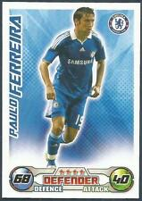 TOPPS MATCH ATTAX 2008-09-CHELSEA & PORTUGAL-PAULO FERREIRA