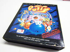 System 3´s Putty Commodore Amiga OVP CIB Works Big Box Spiel sgZ VGC