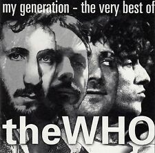 THE WHO : MY GENERATION - THE VERY BEST OF THE WHO / CD - TOP-ZUSTAND