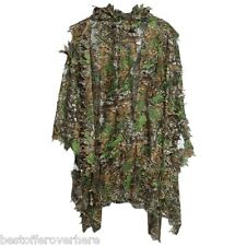 Camo 3D Bionic Leaf Camouflage Ghillie Suit Manteau Set Jungle Military Hunting