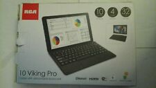 RCA 10 Viking Pro Tablet With Detachable Keyboard ,Black