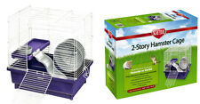 Kaytee My First Home for Hamster, 2-Story, 14.5 x 10 x 14.5 Hamster Cage Gerbil