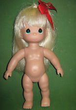 Precious Moments 12 inch Blonde Doll -Nude-2007
