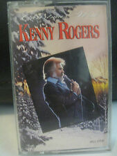 CHRISTMAS WITH KENNY ROGERS, CASSETTE TAPE, 1991