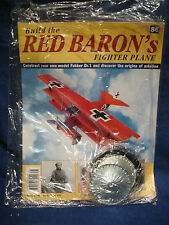 Build the Red Barons Fighter Plane / Fokker Dr.1 - 1:8 Model - Issue 86 Sealed