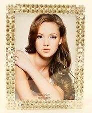 Ciel Collectables Aleksandra Picture Frame, Swarovski Crystal, Silver Plating.