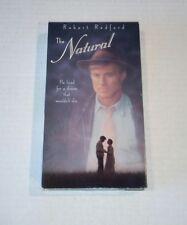 The Natural VHS Robert Redford, Glenn Close, Kim Basinger Robert Duvall Baseball