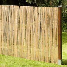 Brise-vue MACAO Natte de Bambou Clôture Jardin Coupe-vent 200x500 cm