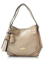 NWT Burberry Bag 100% Authentic Ivory Leather Saddle Small Canterbury Tote