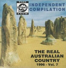 THE REAL AUSTRALIAN COUNTRY Vol 7 1996 17 tracks OUTBACK MUSIC CLUB Independent