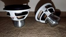 "(2) AURA 1808 TC SOUNDS SOFT PARTS RARE CUSTOM 12"" WOOFER"