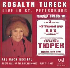 TURECK,ROSALYN-LIVE IN ST. PETERSBURG  CD NEW