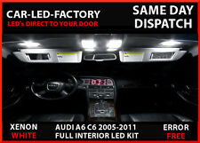 LED UPGRADE INTERIOR LIGHTING 14 LED BULB KIT AUDI A6 C6 S6 2005-2011