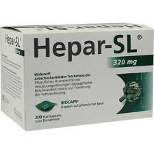 HEPAR SL 320 mg Hartkapseln 200 St