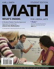 Available Titles CourseMate Ser.: Math for Liberal Arts by Karl J. Smith...
