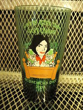 MICHAEL JACKSON ~ Flying Saucer ~ St Patrick's Day 2003 ~ Beer Pint Glass A