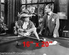 "Lucille Ball~Shooting Pool~Playing Pool~Billiards~Poster~16"" x 20"" Photo"
