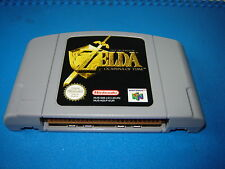 original nintendo 64 Zelda Ocarina Of Time pal uk nmint con ex working tested