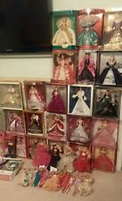 Holiday barbie collection Lot of 44...Holiday 90-14