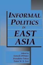 Informal Politics in East Asia-ExLibrary