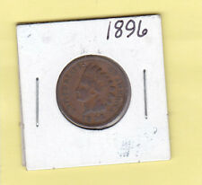 1896 1 Cent, Brown (Regular Strike) Indian Head Penny, Philadelphia Minted