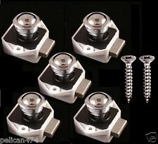 5 chrome mini Pop up Push Knob Latch Catch door drawer cabinet push to open 16mm