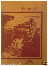 Louisiana State University in Shreveport 1974 Bagatelle Yearbook Annual