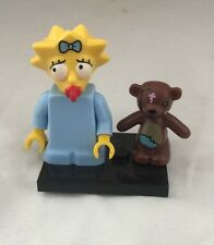 Lego Maggie Simpson Minifig Simpsons Series 13 #5 Homer Daughter Teddy Bear Baby