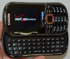Samsung SCH-U460 Intensity II Phone PREPAID PLAN ONLY Verizon Black 2 slider -A-