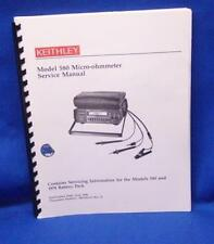 Keithley Model 580 Micro-ohmmeter SERVICE Manual