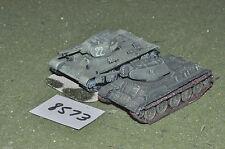 Tanques rusos Segunda Guerra Mundial escala 20mm (ver foto) (8573)