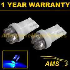 2X W5W T10 501 XENON BLUE 7 DOME LED INTERIOR COURTESY LIGHT BULBS HID IL100401