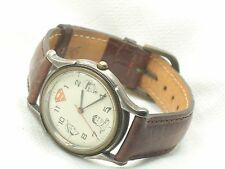 Estate Vintage Fossil To Superman Love Lois Wrist Watch Working Numbered