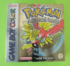 Nintendo Game Boy Color GBC Pokemon Gold Version European New Sealed Rare !!