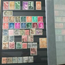 #295 Spain mixed postal stamps from collection Espana