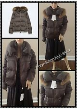 Rare! NWT $199 ZARA 80% DUCK DOWN JACKET WITH FUR COLLAR PUFFER COAT S M L