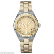 Adidas ADH2537 Women's AluminumTransparent Nylon Gold Tone Bracelet Watch