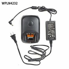 Rapid NO-IMPRES Charger For Motorola XPR6500 XPR6550 XPR6580 Portable Radio