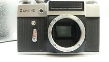 1971 Soviet ERA ZENIT-E SLR Camera M42 Srew Body & Leather Case! Kamera!