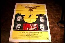 END OF THE GAME  ORIG MOVIE POSTER 1976 JON VOIGHT