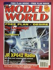 RC Model World - Radio Controlled Aircraft, March 1998 - Free Plan Desire