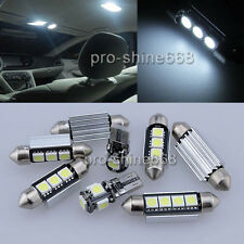 INTERIOR LED Car Light Bulbs KIT ROOF 12V Cool WHITE For Peugeot 307 2001-2005