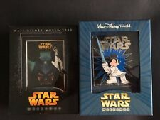 Disney 2 Pins  STAR WARS WEEKENDS JUMBO Disney Pin Limited Edition 500 and 750