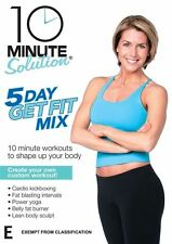 10 Minute Solution: 5 Day Get Fit Mix - An amazing cross NEW R4 DVD