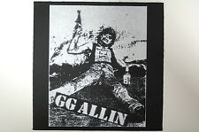 G.G. Allin Back Patch (BP55) Punk Rock Crust Mentors Sex Pistols Adicts Infest