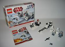 8084 LEGO Star Wars Snowtrooper Battle Pack – 100% Complete w box & Instructions